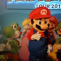 Nintendo's very own Mario at the Play Nintendo Lounge