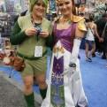Saria and Zelda from the Legend of Zelda