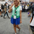 Adorable Isabelle cosplay from Animal Crossing: New Leaf