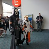 Reaper and Mercy from Overwatch.