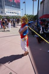 Tetra from The Legend of Zelda: The Wind Waker returning from last year.