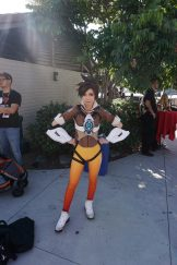 An adorable Tracer from Overwatch.