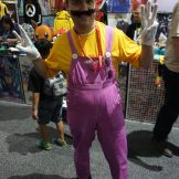 Wario of the Super Mario series.