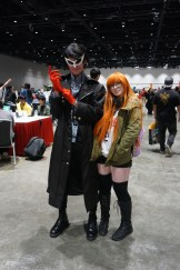 Joker and Futaba from Persona 5.