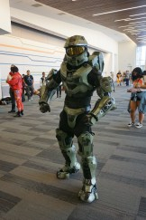 Master Chief from the Halo series.