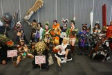 Another shot of the Monster Hunter cosplay group gathering. Featuring VampyBitMe and Maguma.