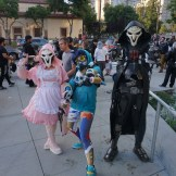 Pink Reaper, Graffiti Tracer and Reaper from Overwatch.