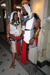 Bayek and Aya from Assassin's Creed: Origins.