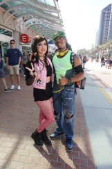 A nice casual D.Va and Lucio couple from Overwatch.