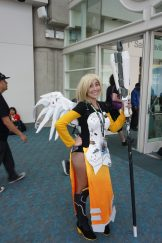 Mercy from Overwatch.