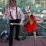 A couple of Splicers from Bioshock.