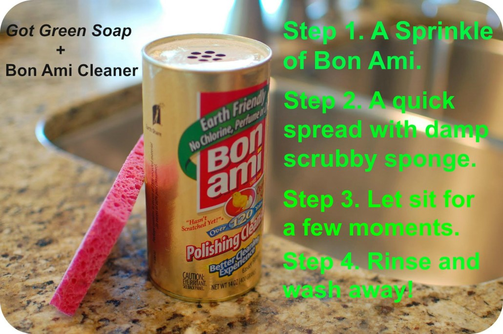 Remove Soap Scum
