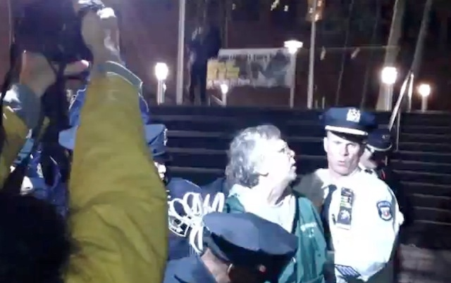 Occupy Wall Street Gives NYPD Perfect Excuse To Crack Down On Elderly Veterans