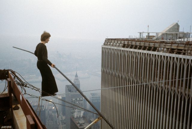 Philippe Petit Walk on Wire: Twin Towers