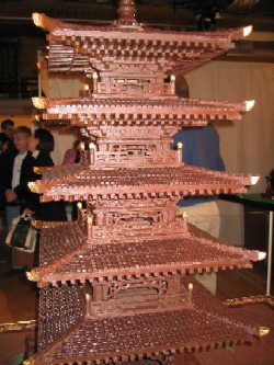 torre chocolate
