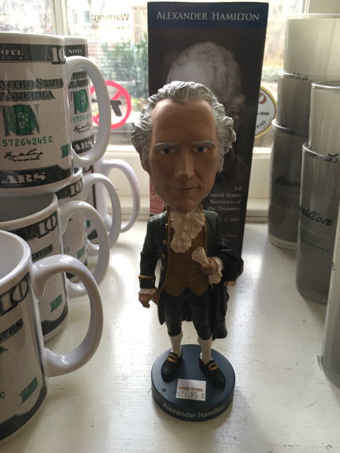 Hamilton Bobblehead, Hamilton Grange National Memorial