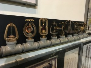 New York City Fire Museum - Sprinkler Heads