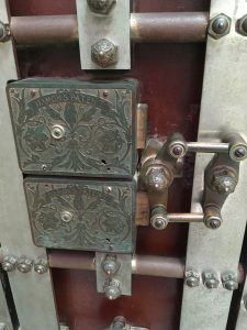 Steampunk lock
