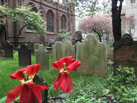 Graveyard, Trinity Church, Manhattan