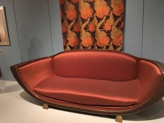 Deco Sofa, Cooper Hewitt Museum