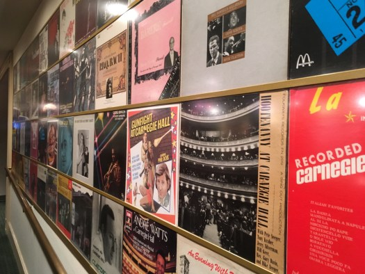 Album Covers, Carnegie Hall