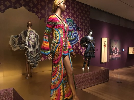 Crocheted fashions, Museum of Arts and Design
