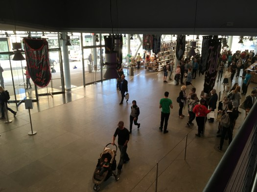 Whitney Museum Lobby