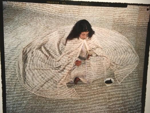 Laila Essaydi in the Studio Museum in Harlem
