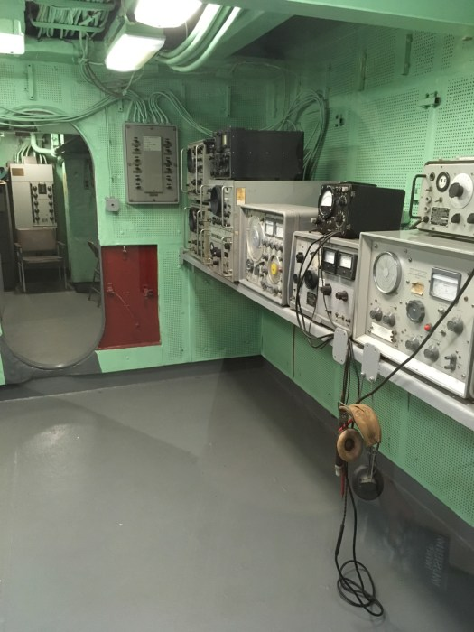 Radio Room, Intrepid, New York