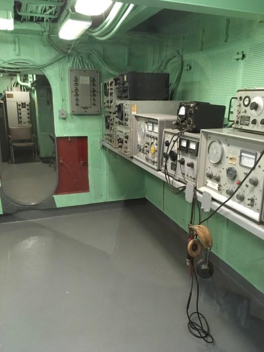 Radio Room, Intrepid, New York