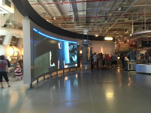 Hangar Deck, Intrepid Air Sea Space Museum New York