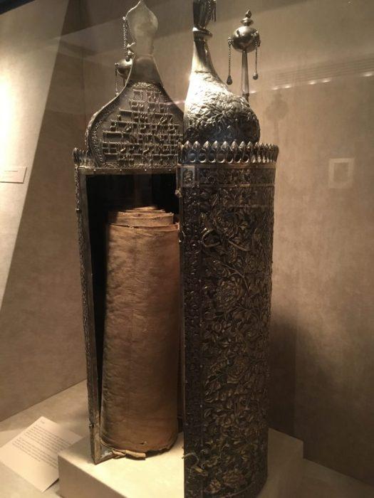Torah Case, Bernard Museum, Temple Emanu-El
