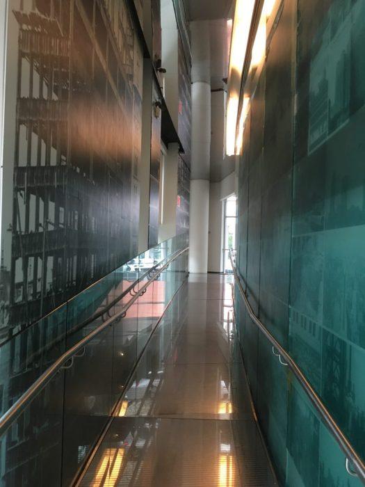 Entrance, Skyscraper Museum, New York