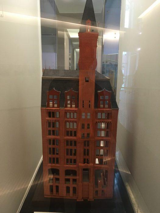 Tribune Building Model, Skyscraper Museum, New York
