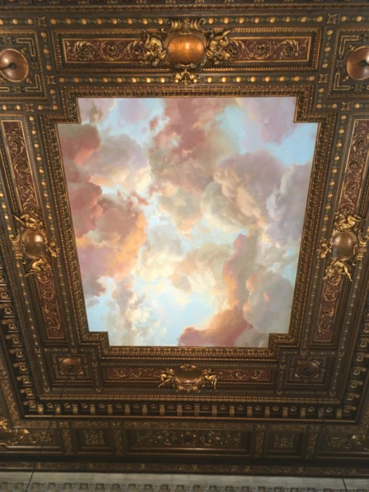 Ceiling, Reading Room, New York Public Library