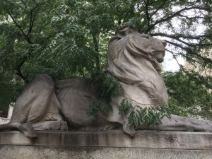 Fortitude, Lion, New York Public Library