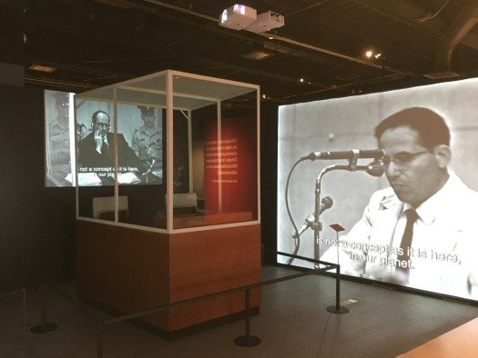 Eichmann Exhibit, Museum of Jewish Heritage, New York