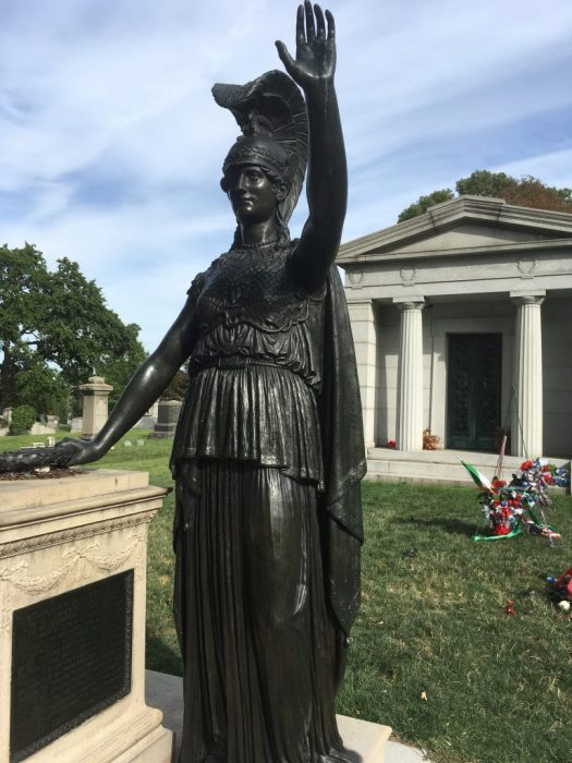 Minerva, Green-Wood Cemetery