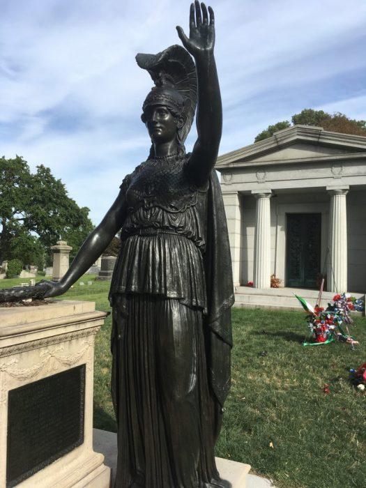 Minerva, Green-Wood Cemetery