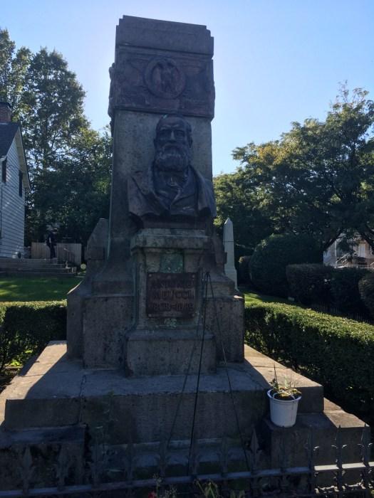 Meucci Monument, the Garibaldi-Meucci Museum, Staten Island
