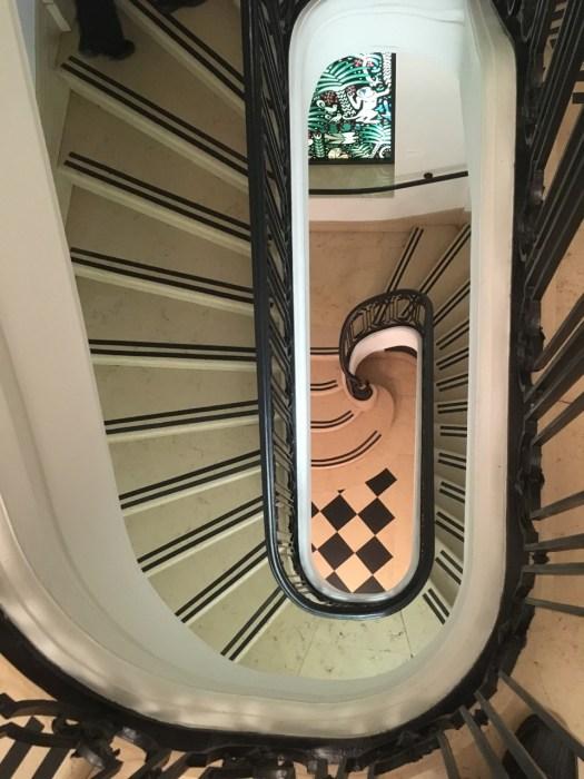 Stairway, Neue Galerie, New York