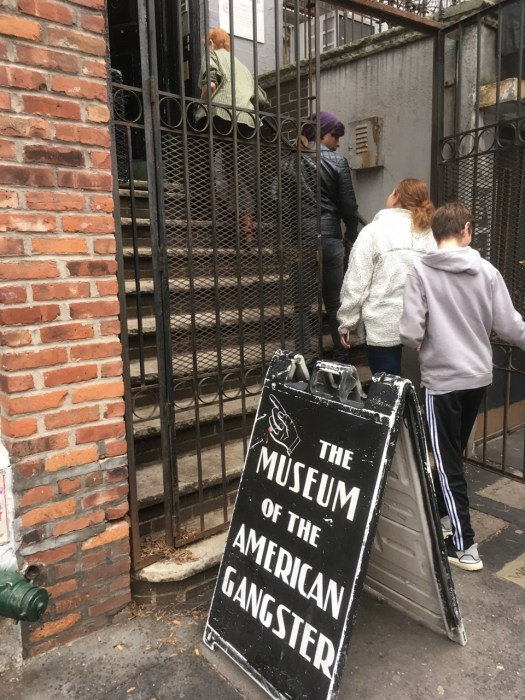 Museum of the American Gangster-Entrance