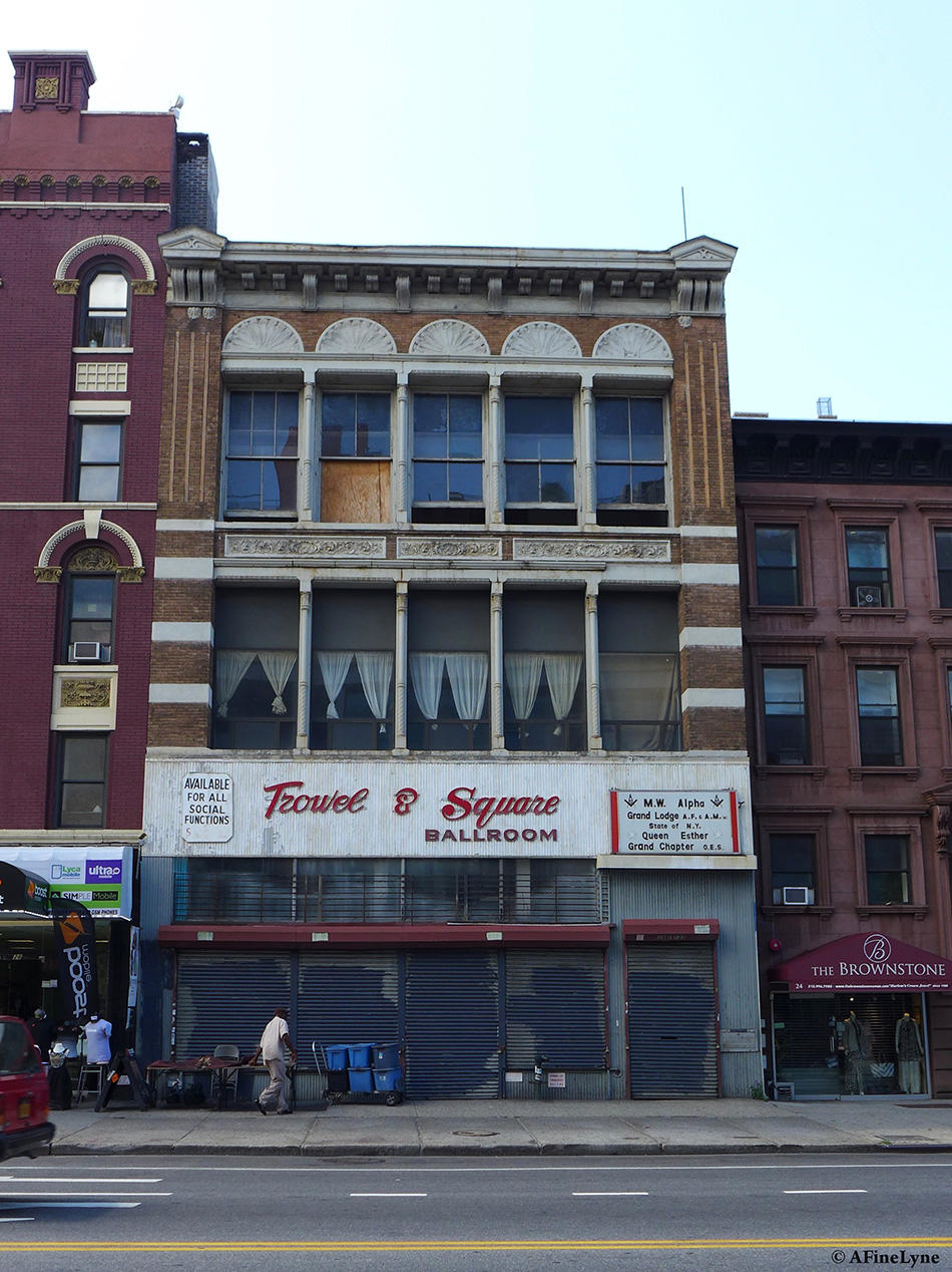 East Harlem's Old Trowel & Square Building Renovations