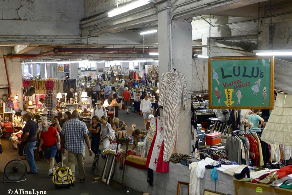 Revisiting the 25th Street Indoor Garage Flea Market NYC