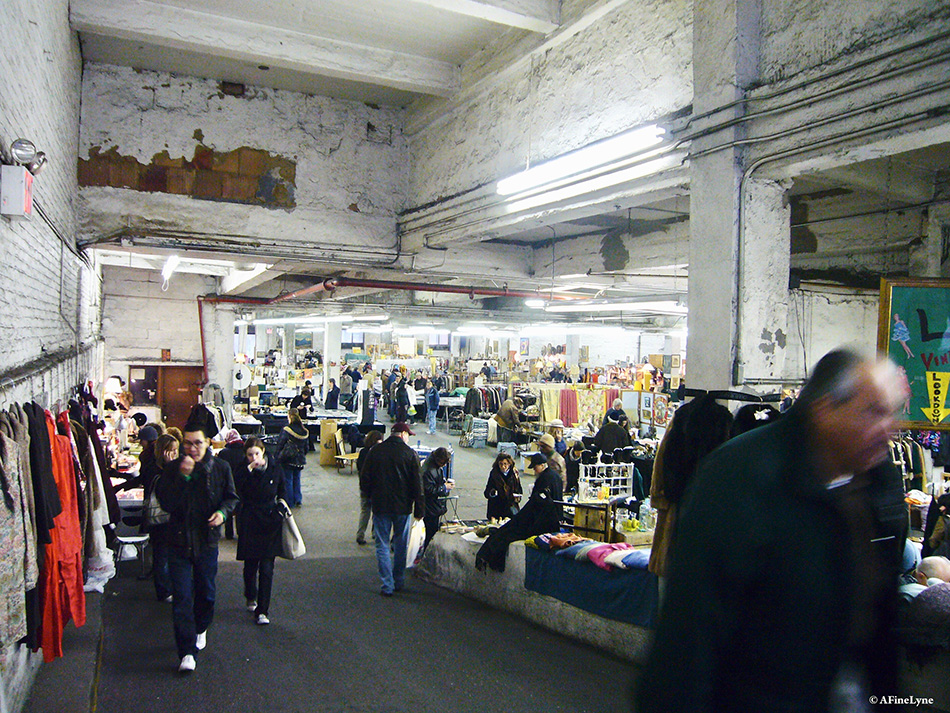 Revisiting the 25th Street Indoor Garage Flea Market NYC – GothamToGo