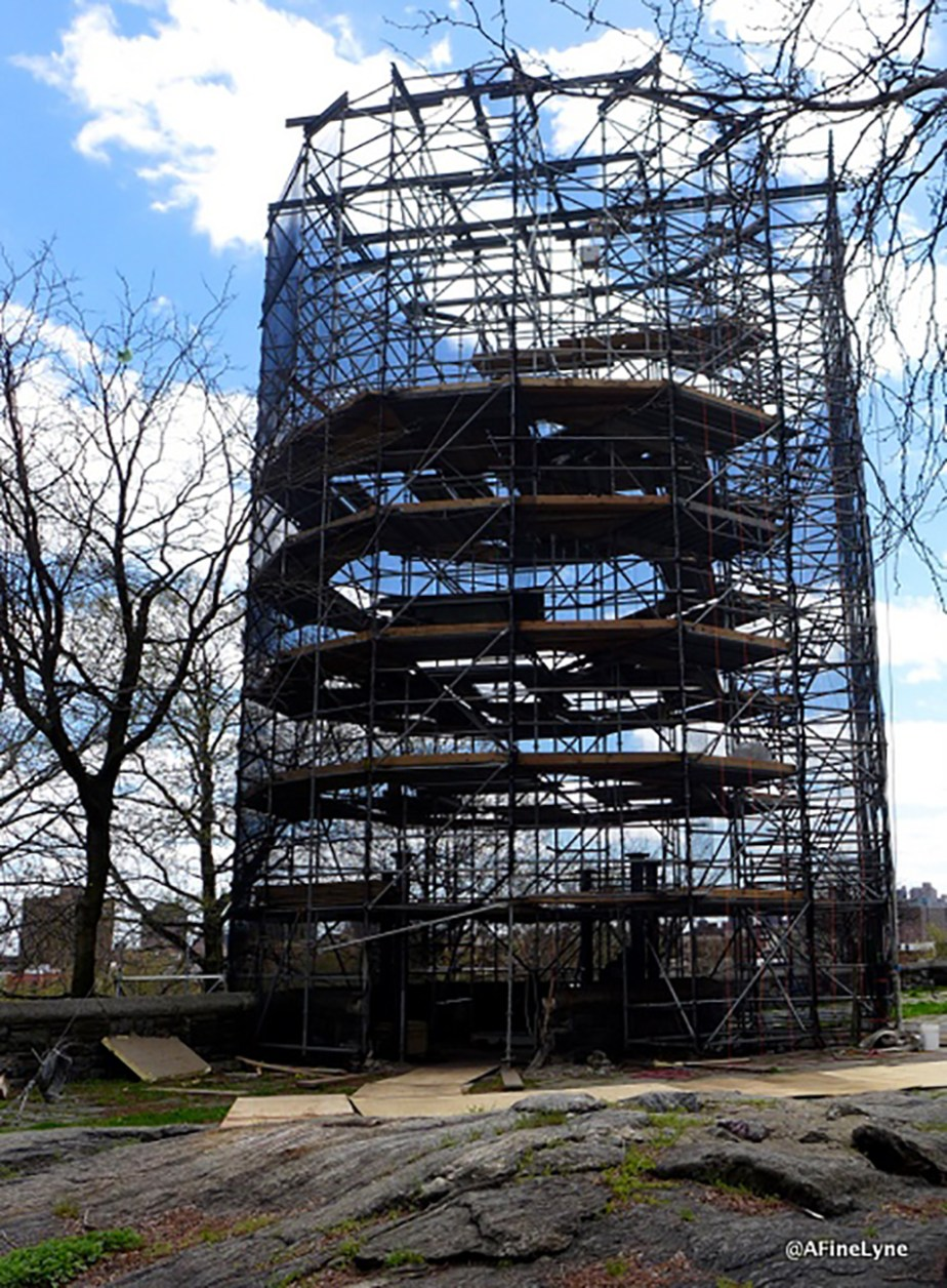 Harlem Fire Watchtower removal