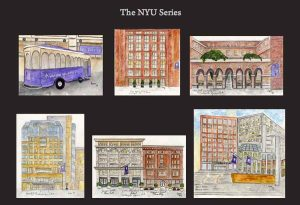 NYU Series of Note Cards