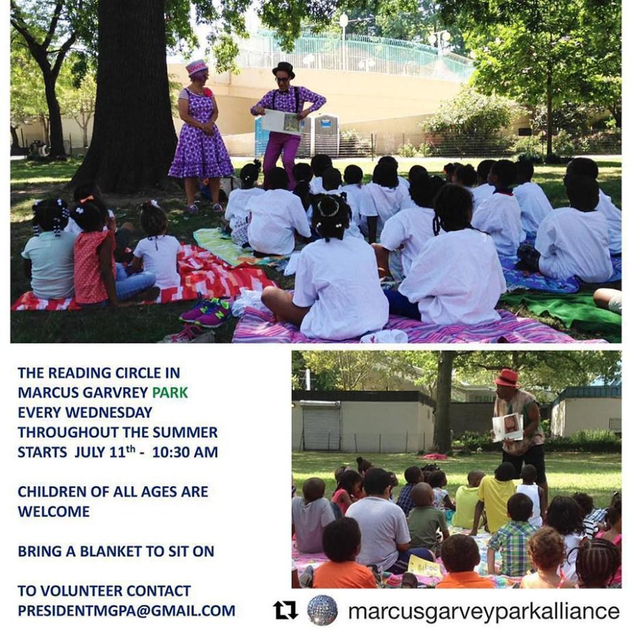 Marcus Garvey Park Reading Circle