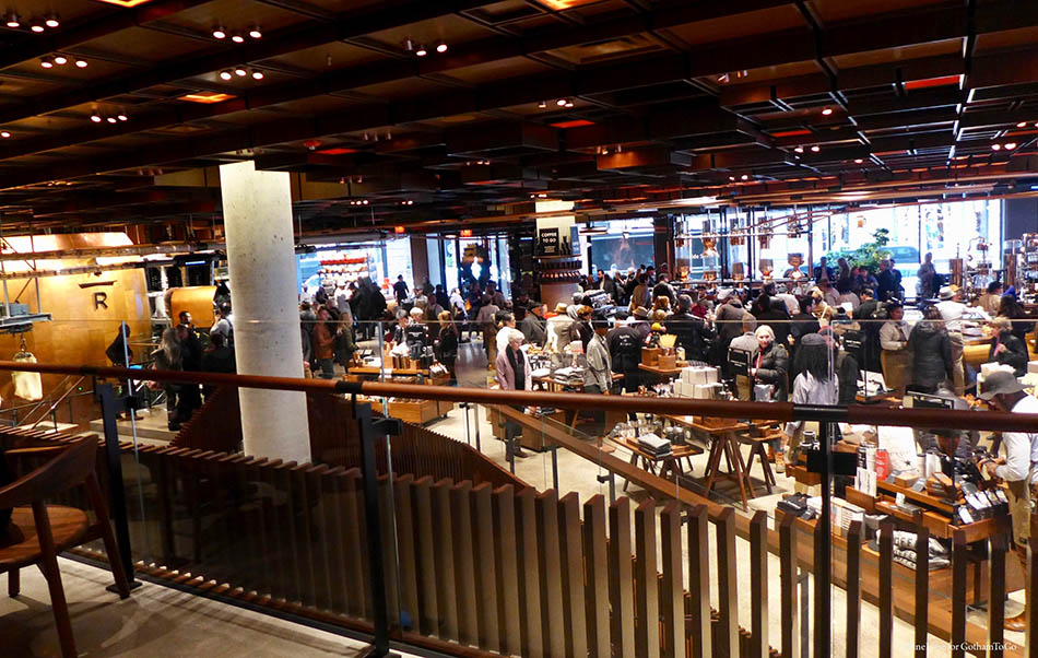 Starbucks Reserve Roastery Arrives In The Meatpacking