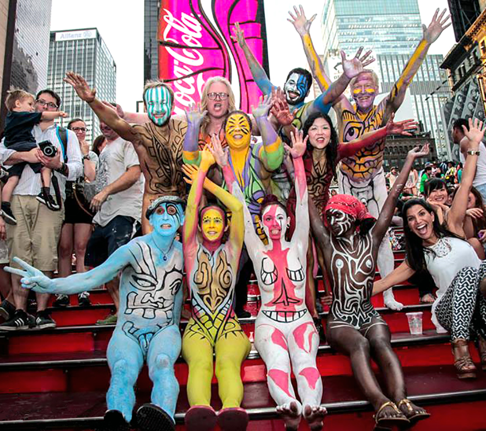 Human Connection Arts Moves Body Painting Into 2020 With The Theme Vision Gothamtogo